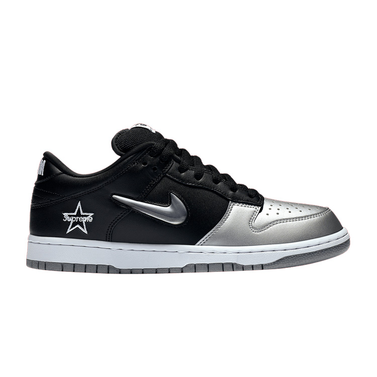 Nike-SB-Dunk-Low-Supreme-Jewel-Swoosh-Silver