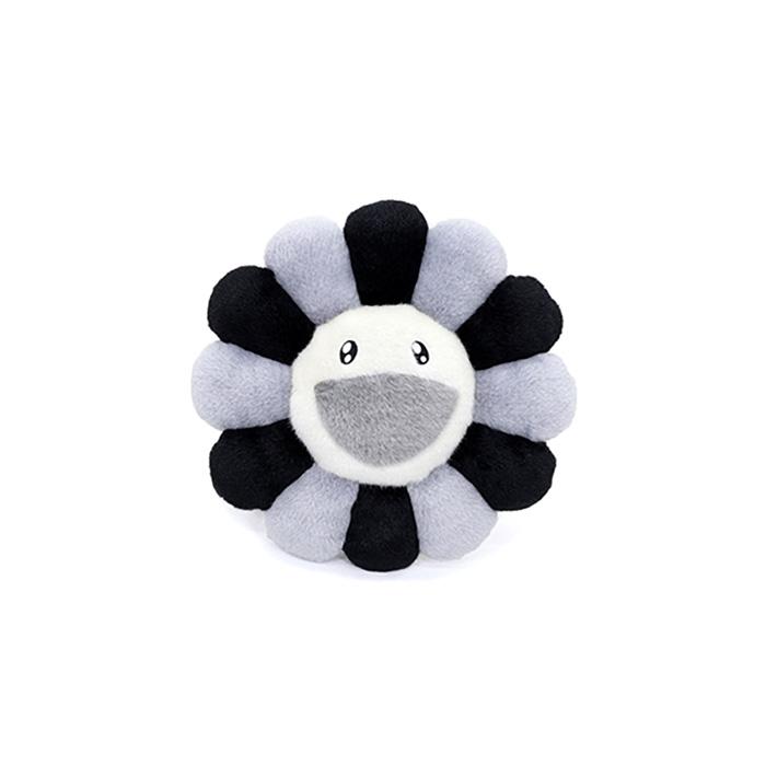 Flower-Cushion-Gray-Black-30cm