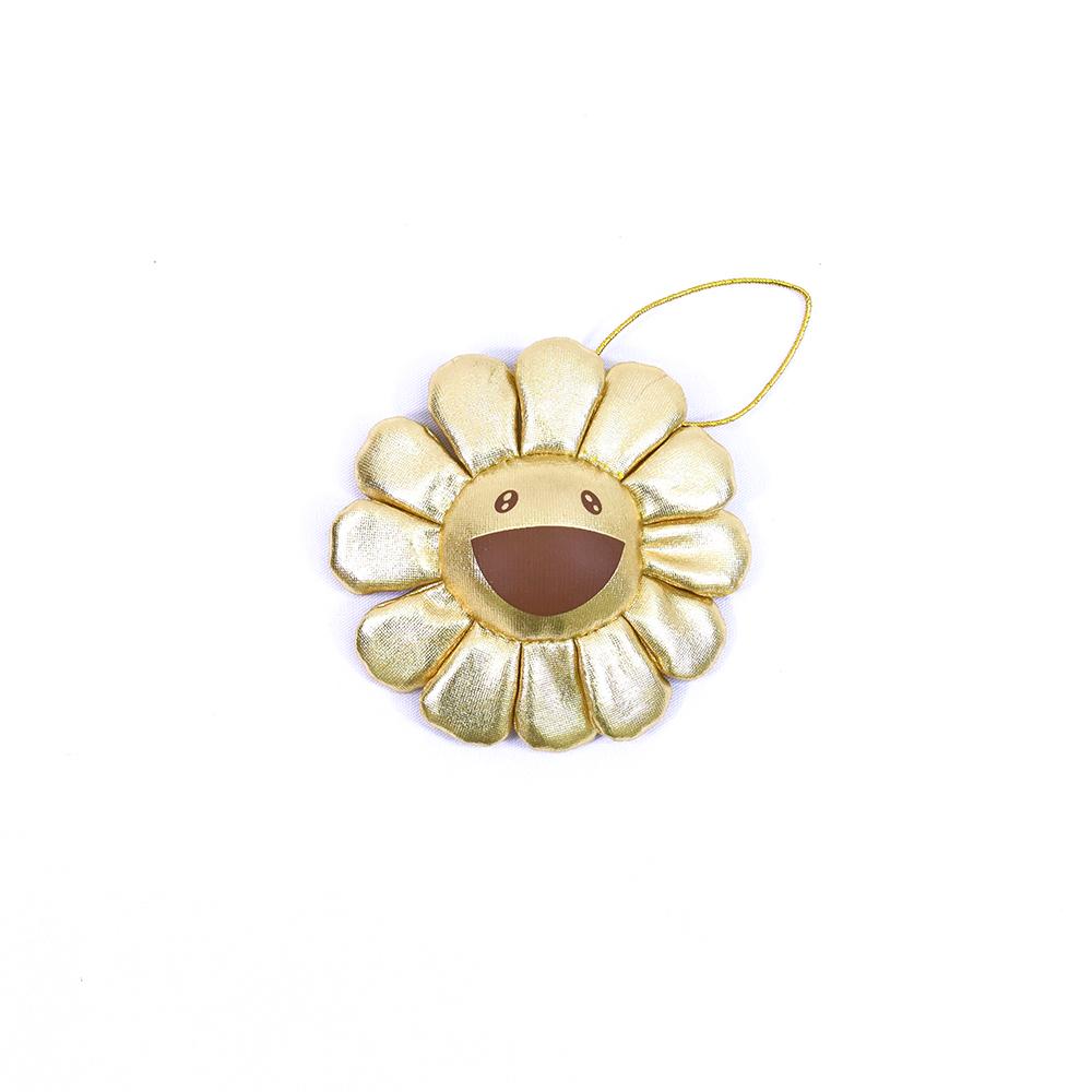 Flower-Key-Chain-Gold