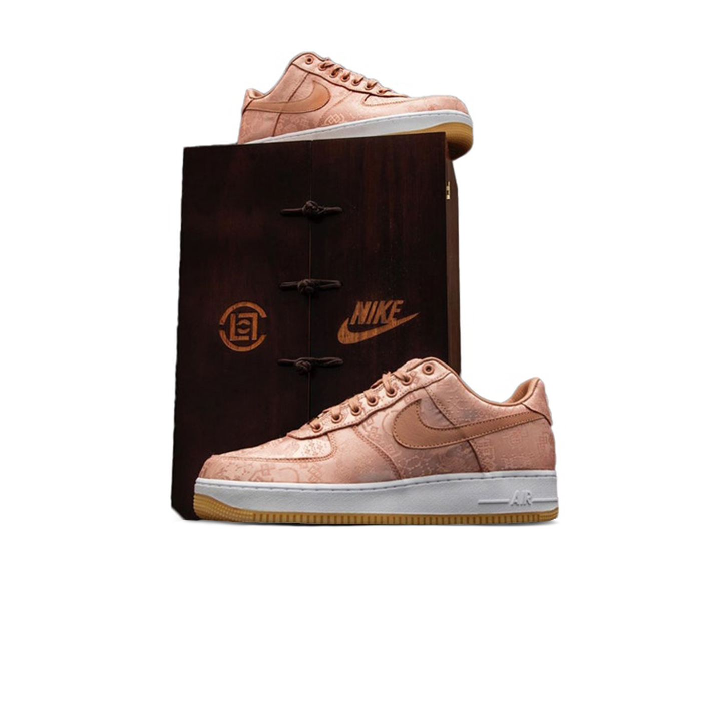 Nike-Air-Force-1-Low-Clot-Rose-Gold-Silk-Special-Box