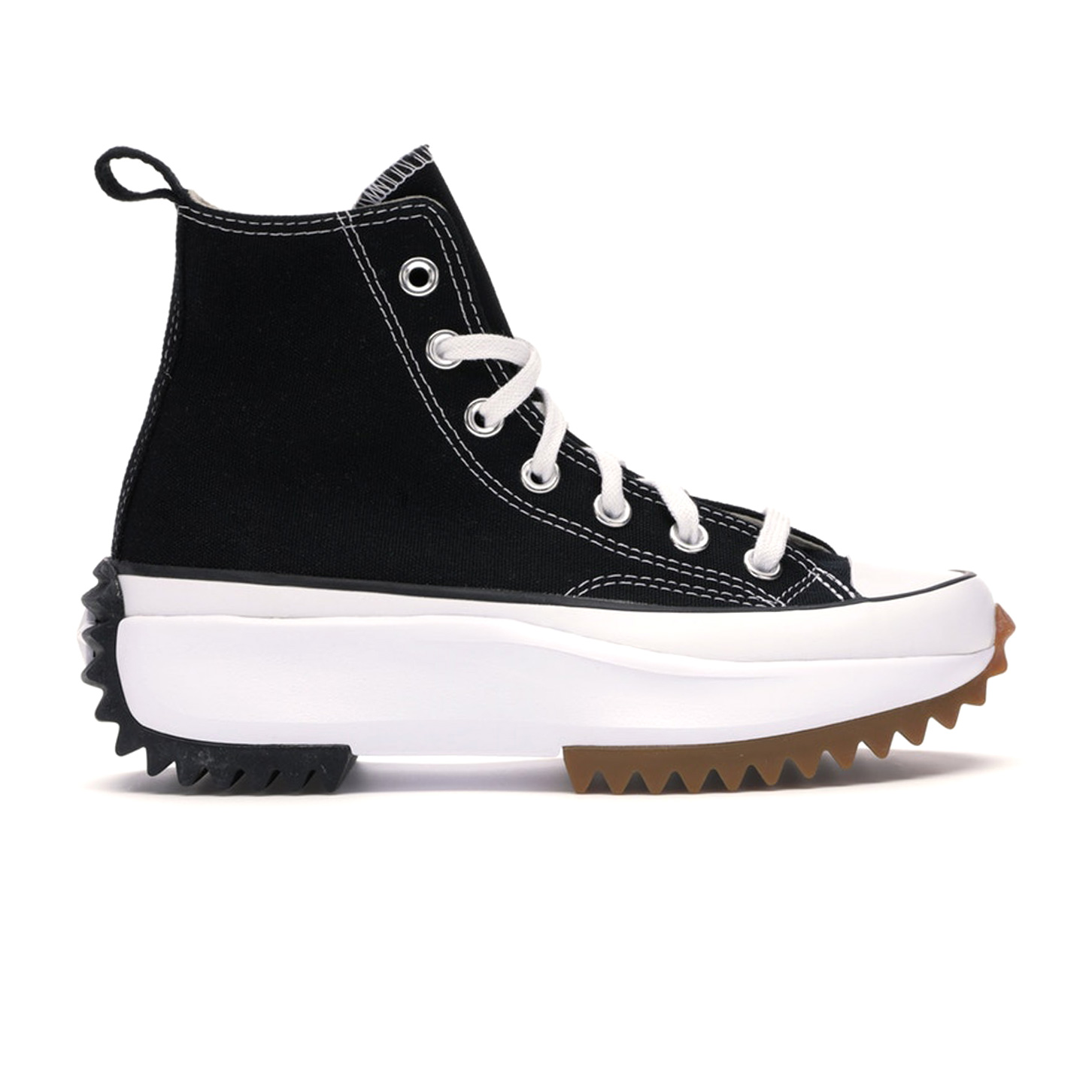 Converse Run Star Hike Hi Black White Gum