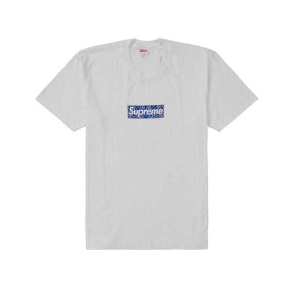 Supreme Bandana Box Logo Tee White 19FW