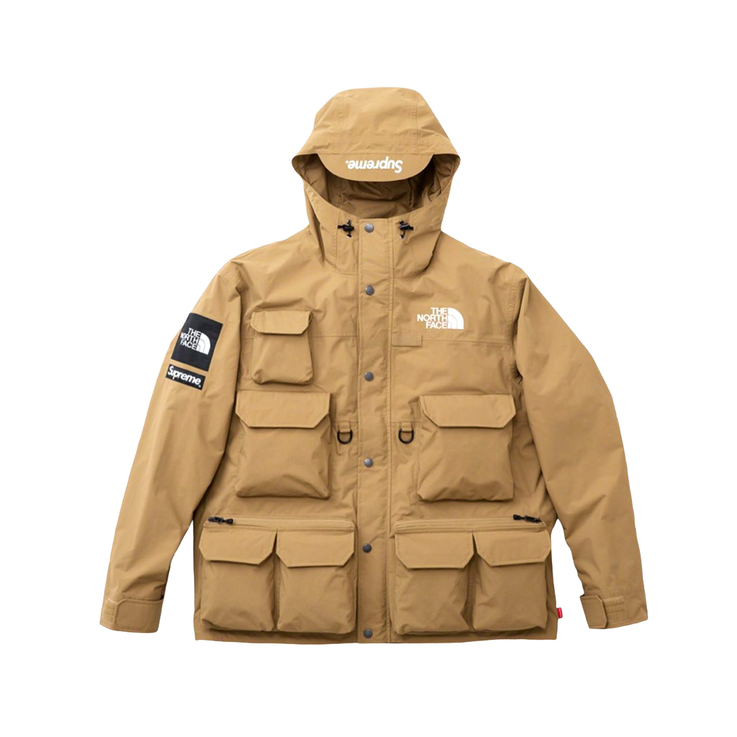 Supreme The North Face Cargo Jacket Gold 20SS