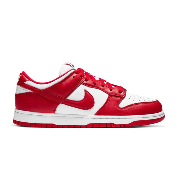 Dunk Low SP White University Red 2020