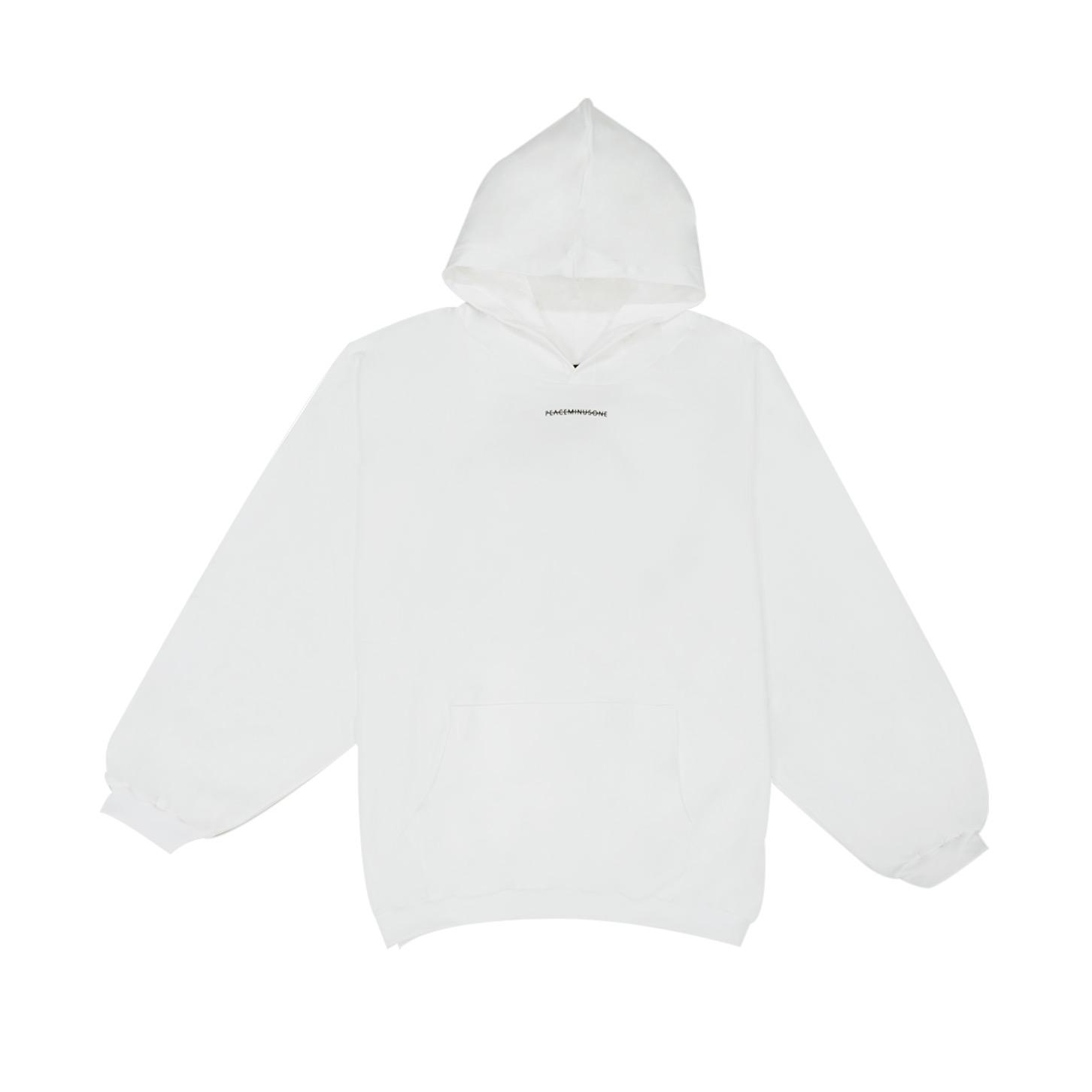 Peaceminusone Hoodie #1 White