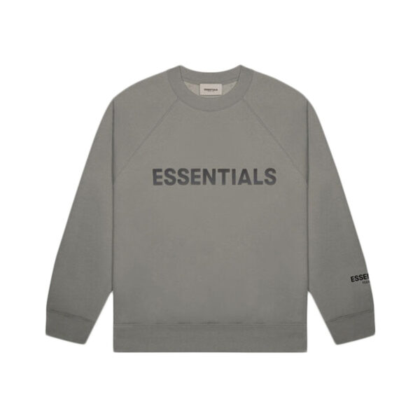 FEAR OF GOD ESSENTIALS Crewneck Gray Flannel/Charcoal 20SS