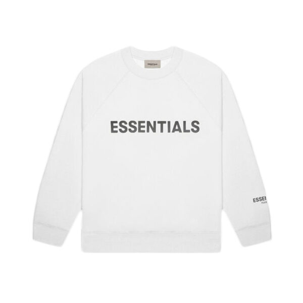 FEAR OF GOD ESSENTIALS Crewneck White 20SS
