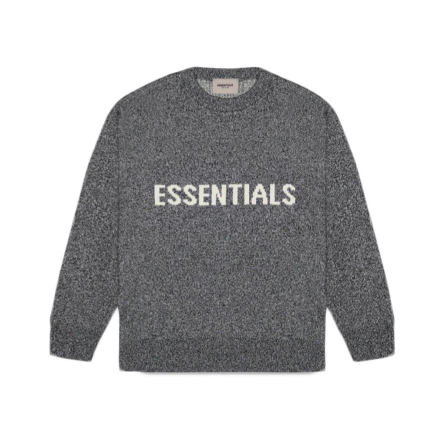 FEAR OF GOD ESSENTIALS Knit Sweater Dark Slate/Stretch Limo/Black 20SS