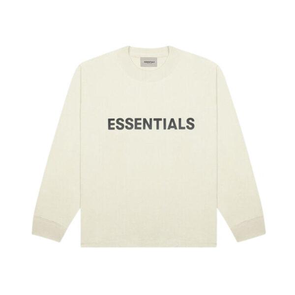 FEAR OF GOD ESSENTIALS Long Sleeve T-Shirt Buttercream 20SS
