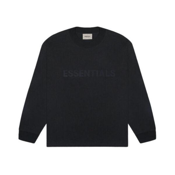 FEAR OF GOD ESSENTIALS Long Sleeve T-Shirt Dark Slate/Stretch Limo/Black 20SS