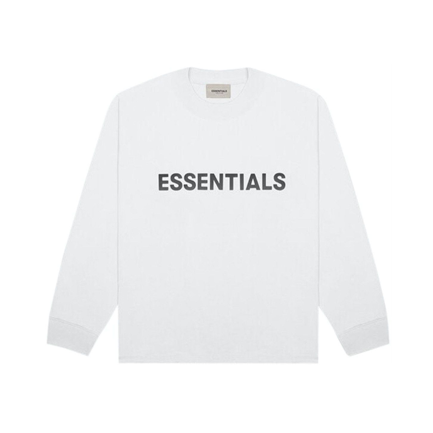 FEAR OF GOD ESSENTIALS Long Sleeve T-Shirt White 20SS