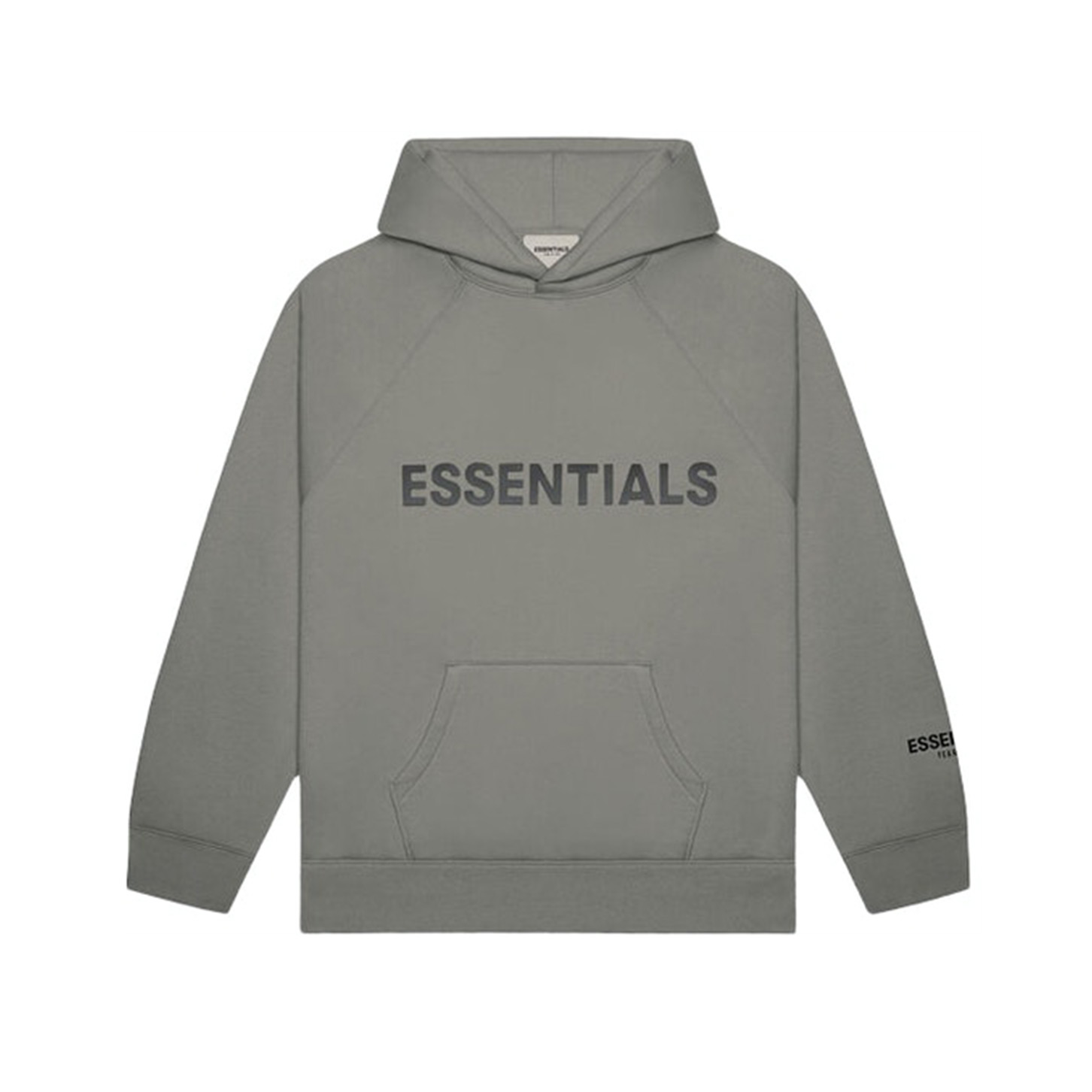 FEAR OF GOD ESSENTIALS Pullover Hoodie Gray Flannel/Charcoal