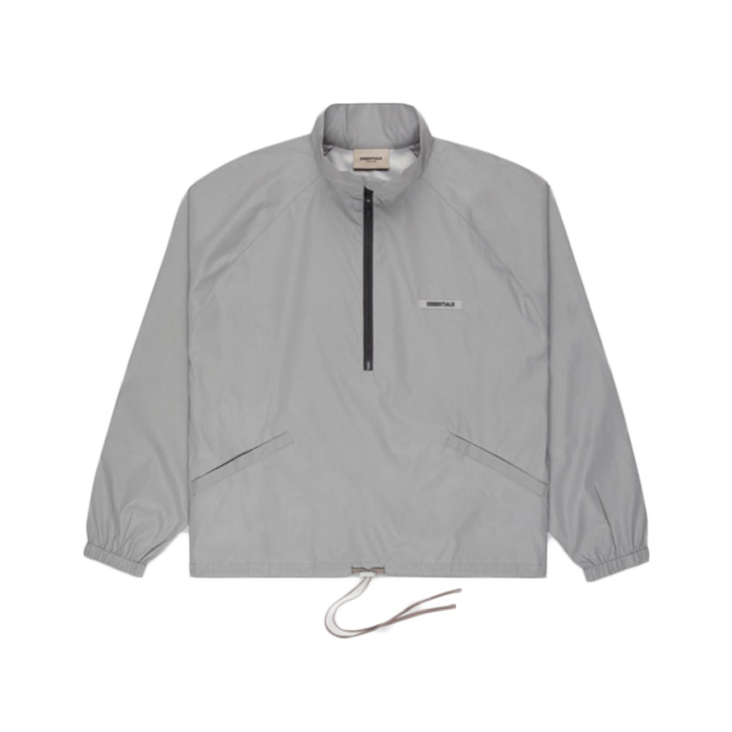 FEAR OF GOD ESSENTIALS Track Jacket Silver Reflective 20SS