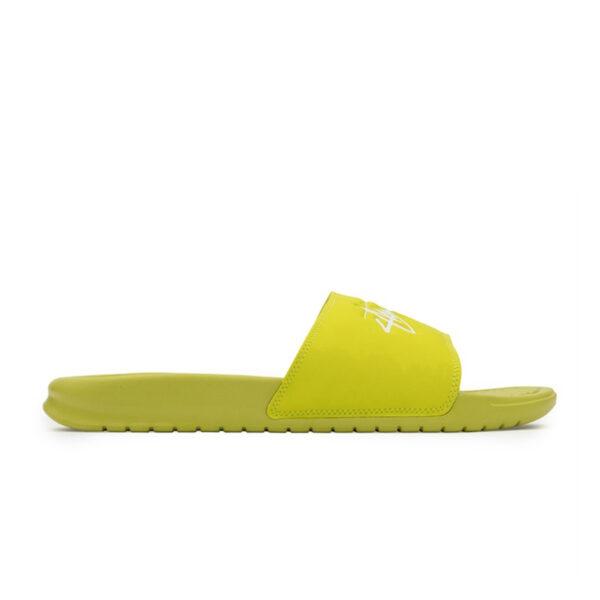 Stussy Benassi Slides Bright Cactus