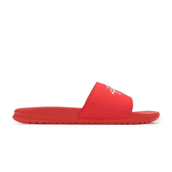 Stussy Benassi Slides Habanero Red