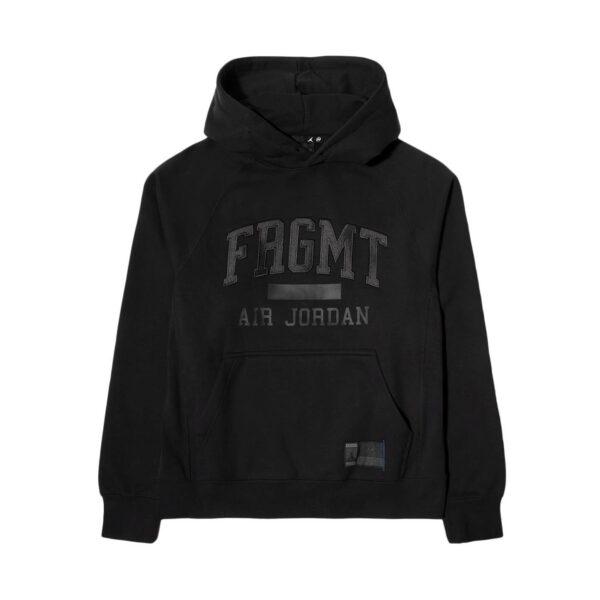 Jordan X Fragment Black Fleece Pullover Hoodie (DA2984-010)