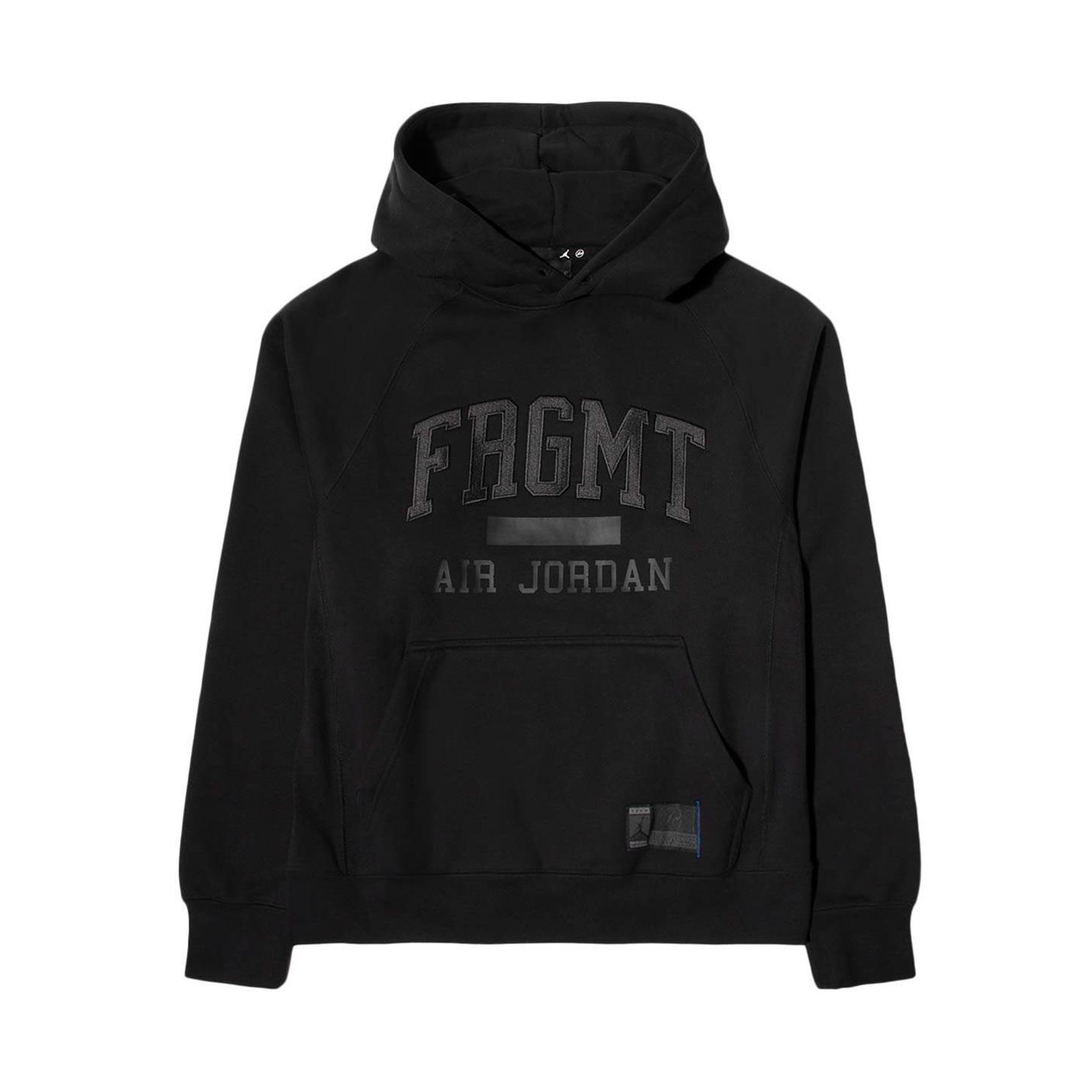 Jordan X Fragment Black Fleece Pullover Hoodie