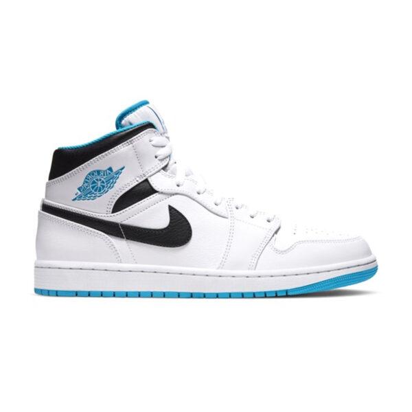 Jordan 1 Mid Laser Blue