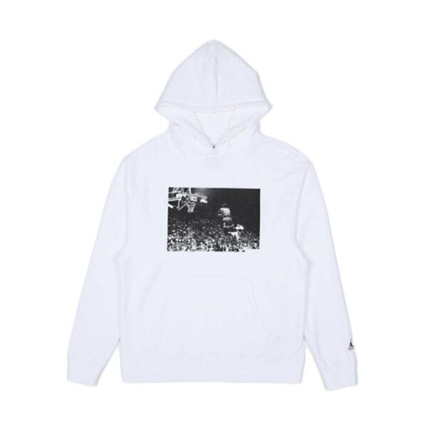 Jordan x Union Flying High Hooded Sweatshirt White