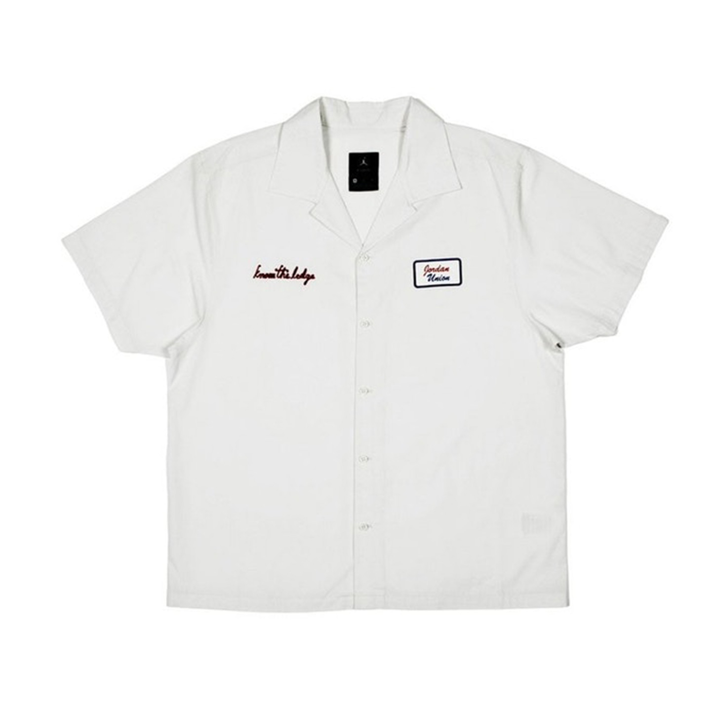 Jordan x Union Mechanic Shirt Platinum