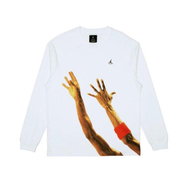 Jordan x Union The J L/S T-Shirt White