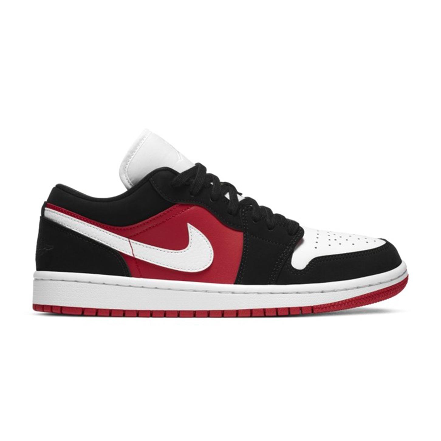 Jordan 1 Low Gym Red Black (W)