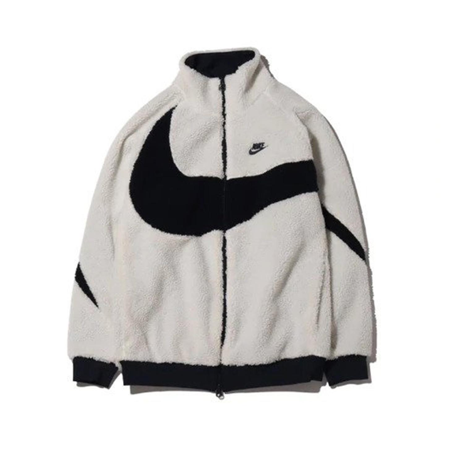 Nike VM Big Swoosh Full Zip Jacket White Navy