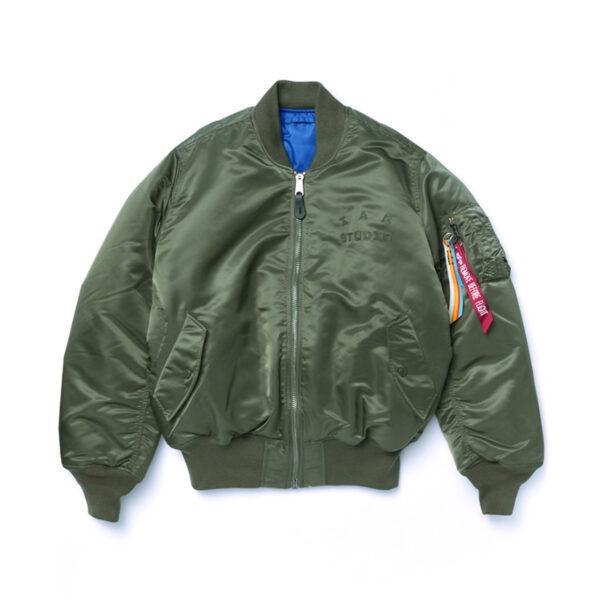 IAB STUDIO X ALPHA MA-1 Jacket