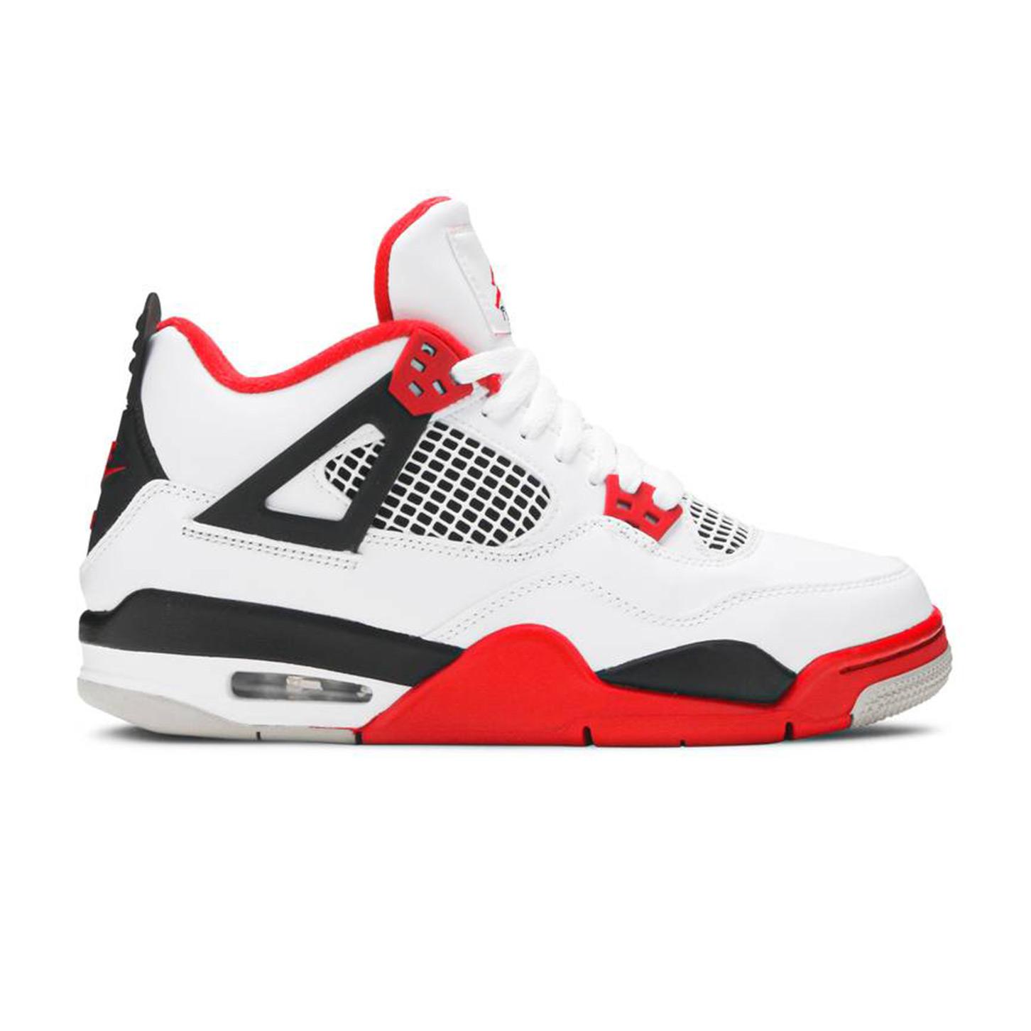 Jordan 4 Retro Fire Red 2020 (GS)