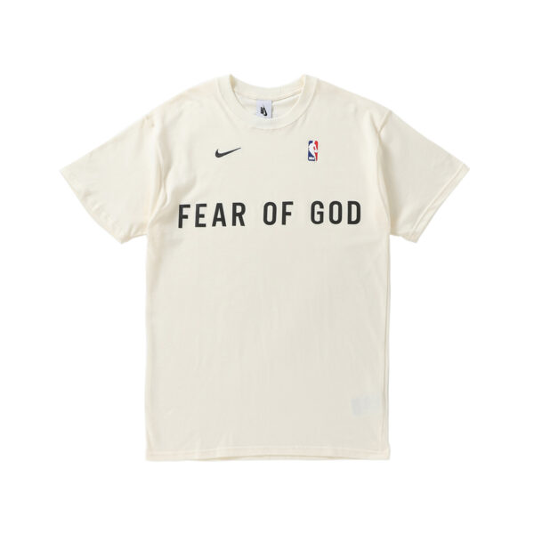 Nike x FEAR OF GOD Pale Ivory Warm Up Tee