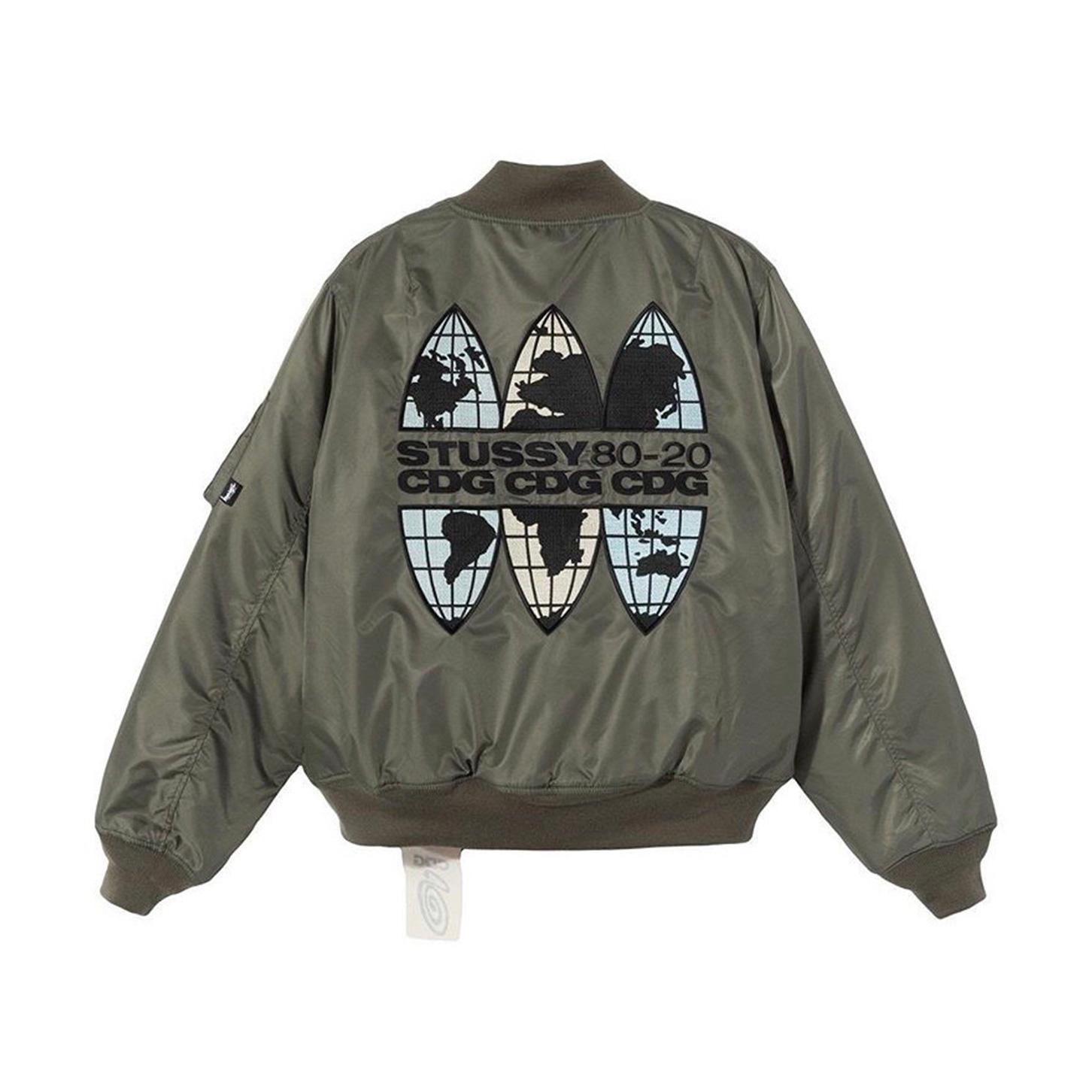 Stussy CDG MA-1 Jacket