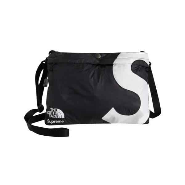 Supreme The North Face S Logo Shoulder Bag Black 20FW