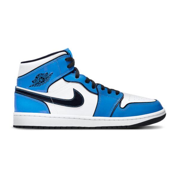 Jordan 1 Mid SE Signal Blue