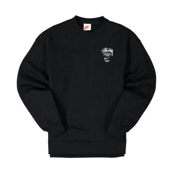 Stussy x Nike NRG Fleece Crew Black (DC4199-010)