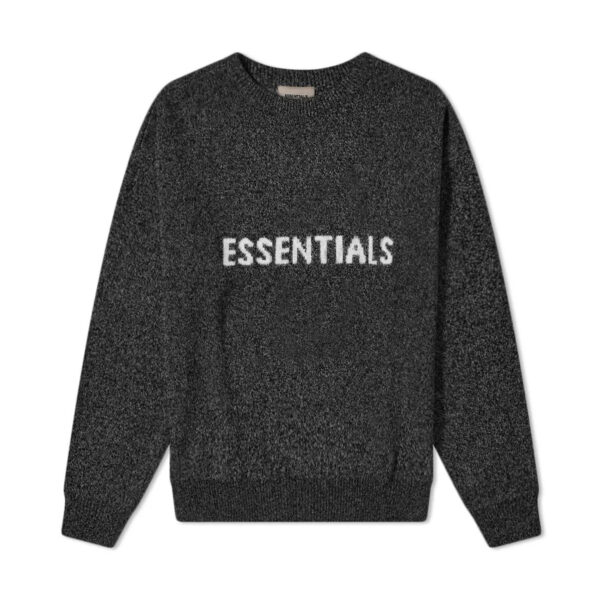 FEAR OF GOD ESSENTIALS Knit Sweater Dark Slate/Stretch Limo/Black 20SS