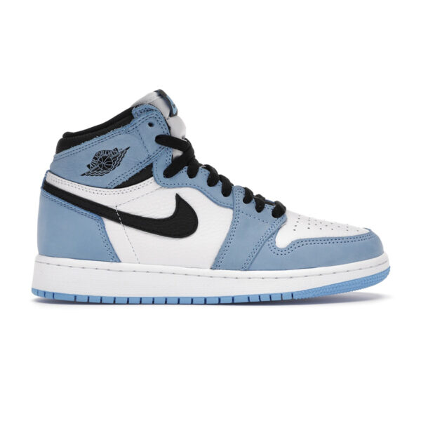 Jordan 1 Retro High White University Blue (GS)